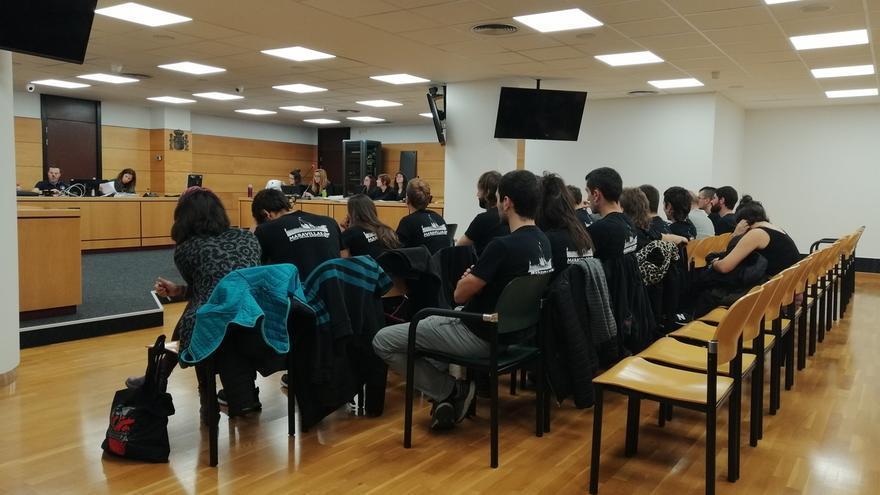 """Los investigados niegan que ocuparan Rozalejo y dicen que fueron el día del desalojo a """"apoyar"""" el proyecto"""