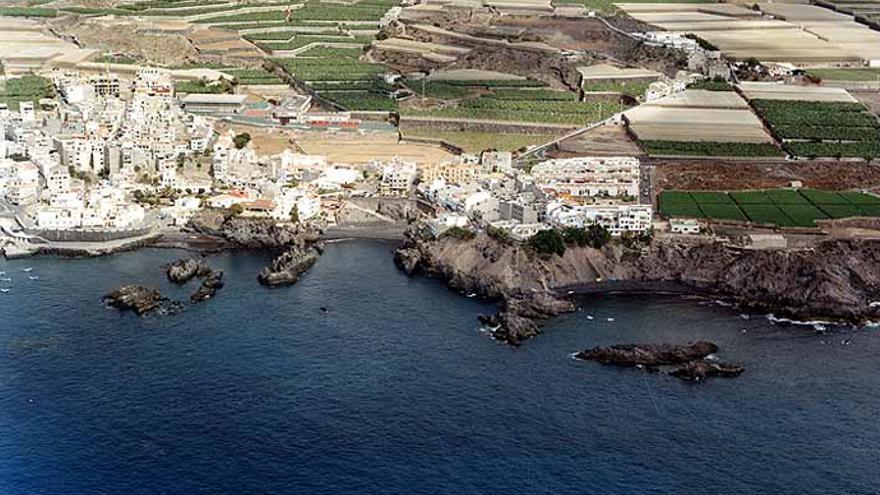 Alcalá, en el municipio de Guía de Isora, en una imagen de archivo