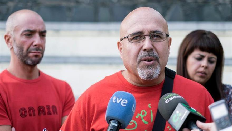 El presidente de la Asociación Canaria de Víctimas del Franquismo, Francisco González.. EFE/Ángel Medina G.