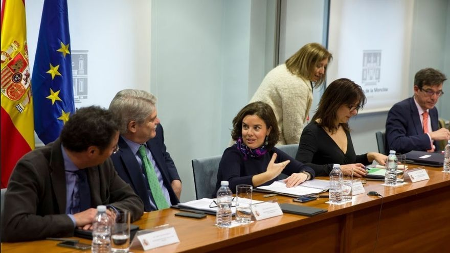 Sáenz de Santamaría preside este miércoles la Comisión Interministerial para el seguimiento del 'Brexit'