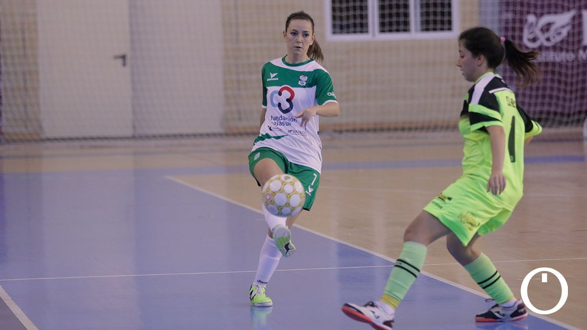 Lau Fernández, jugadora del Deportivo Córdoba