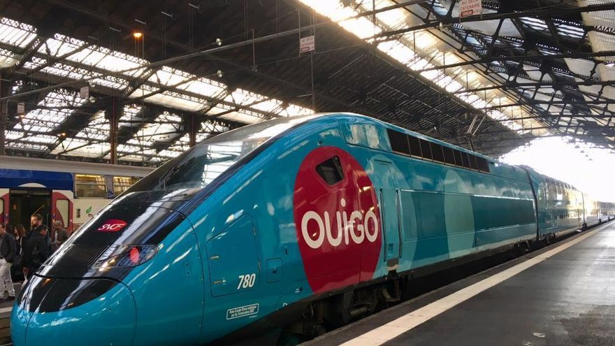 Un tren de alta velocidad de la filial low cost de SNFC
