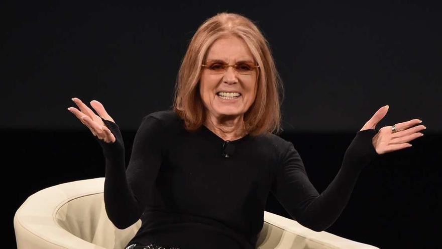Gloria Steinem en el programa de Bill Maher, el pasado febrero