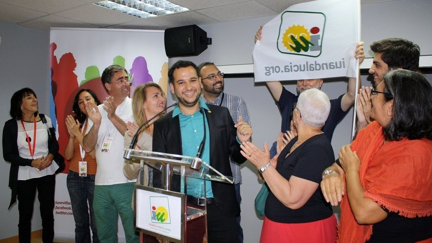 """González Rojas (IU), """"satisfecho"""" con los resultados, subraya que """"la ciudad ha dicho 'no' a Zoido"""""""