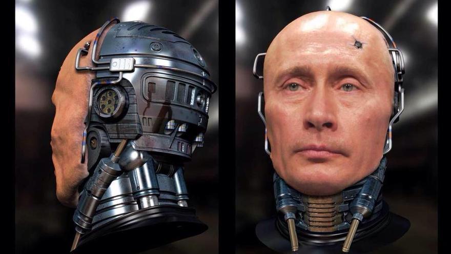 Putin Robokop: la trepidante aventura de un bot que no existe en un mundo lleno de peligros