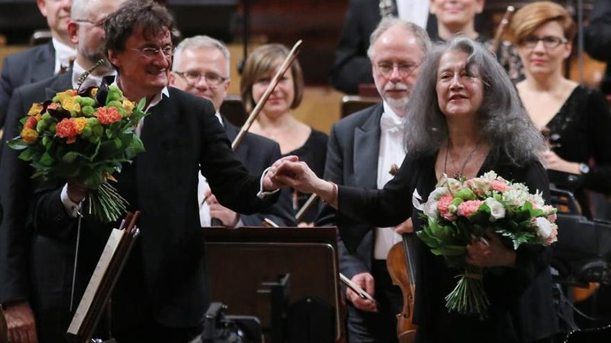 Sony homenajea a la pianista argentina Martha Argerich en su 75 cumpleaños