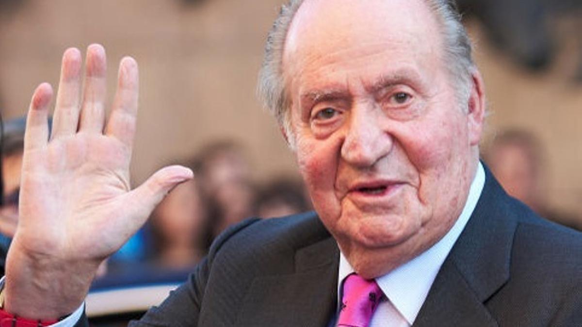 El rey emérito Juan Carlos I, en una fotografía de archivo.