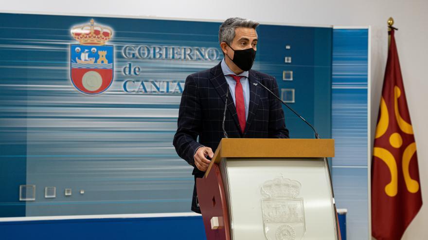Archivo - El vicepresidente y consejero de Universidades, Igualdad, Cultura y Deporte, Pablo Zuloaga.