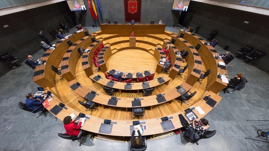 Celebración del Debate del Estado de la Comunidad en el Parlamento de Navarra