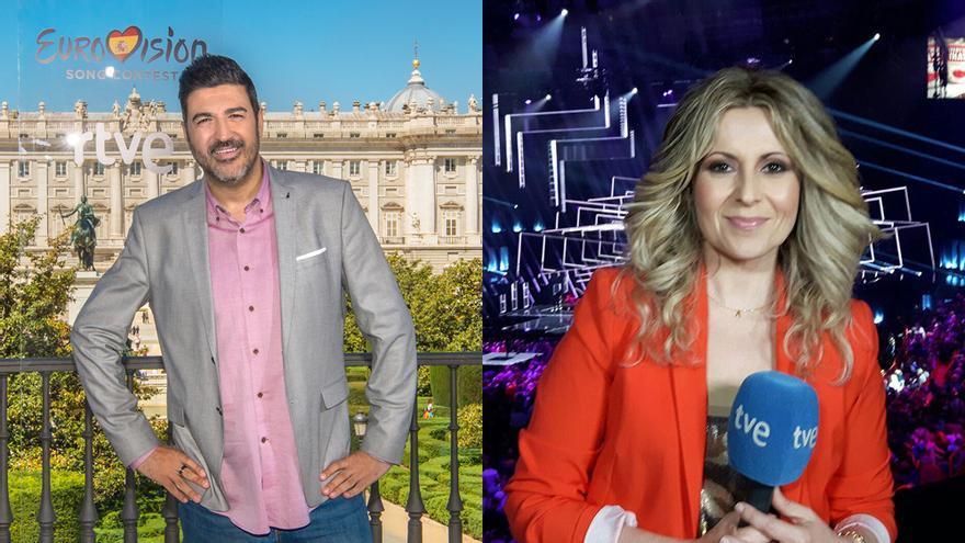 Tony Aguilar y Eva Mora comentarán Eurovisión Junior 2020