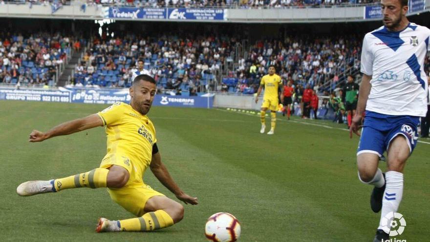 Derbi entre la UD Las Palmas y el CD Tenerife.