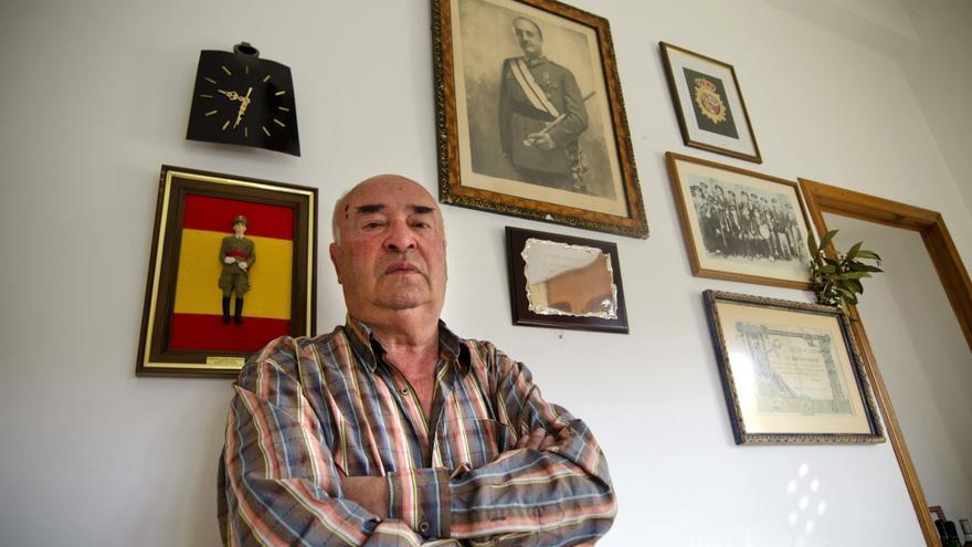El alcalde franquista de Beade, Senén Pousa (PP)