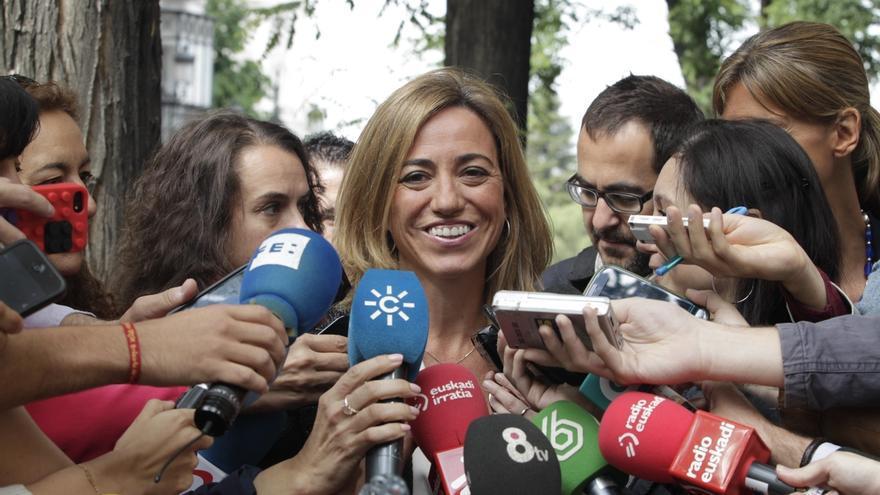 Chacón cree que España está haciendo lo que debe hacer y no es partidaria de aumentar el presupuesto de Defensa