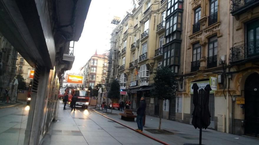 Declarado un incendio en el Museo de Bellas Artes de Santander que los Bomberos tienen controlado