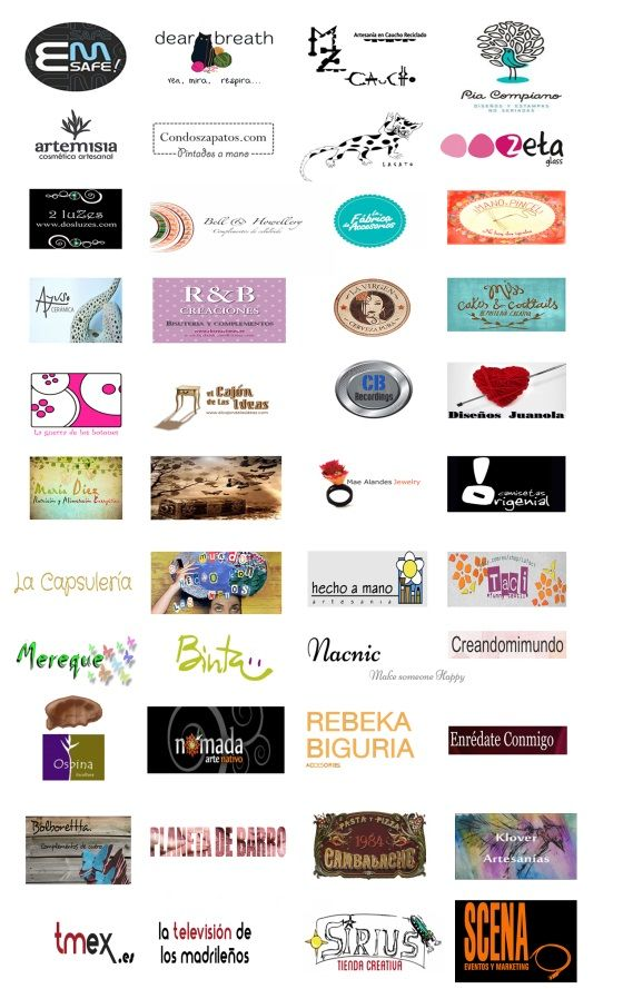 Logos de los participantes