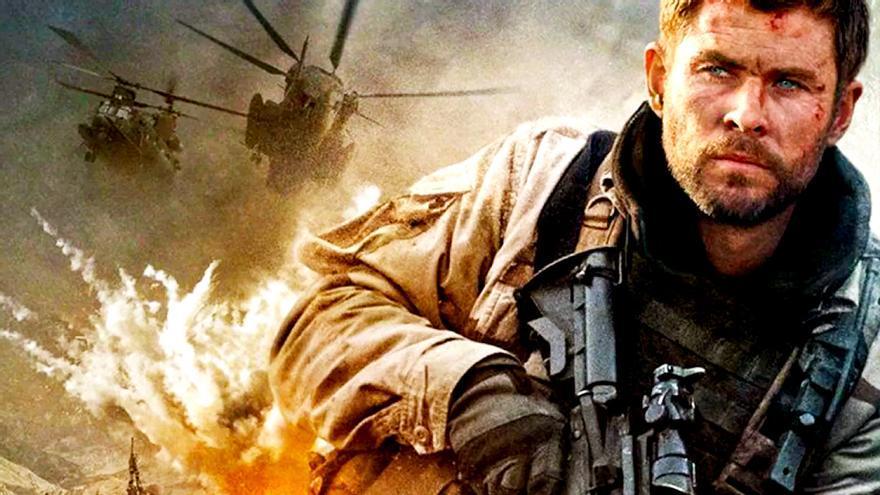 Chris Hemsworth en '12 valientes'