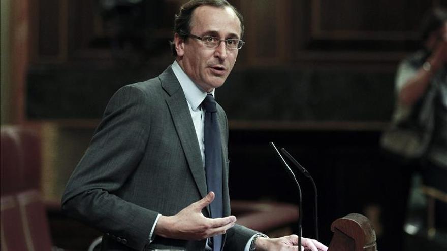 Afonso Alonso, responsable del grupo del PP en el Congreso.