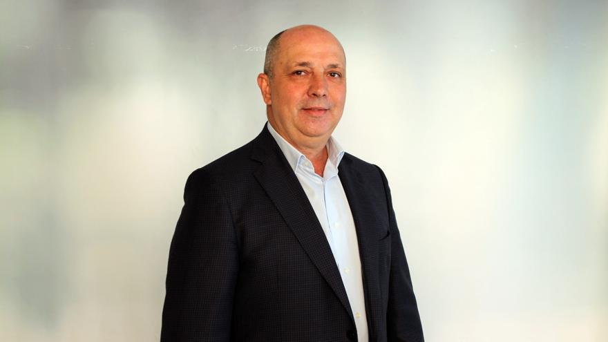 Juan Ramón Felipe, consejero del grupo de CC en el Cabildo de La Palma.