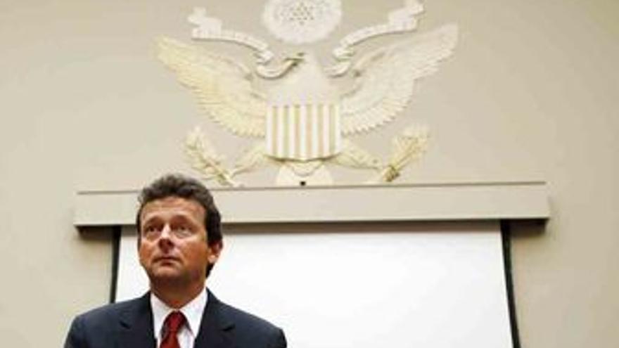 Director ejecutivo de BP, Tony Haytward