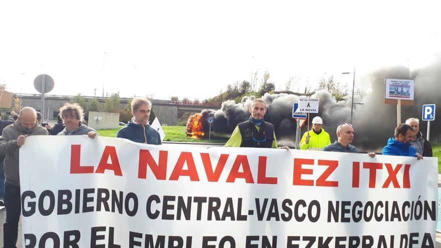 """El comité de La Naval de Sestao confirma que Van Oord no terminará la draga """"por la falta de un inversor"""""""