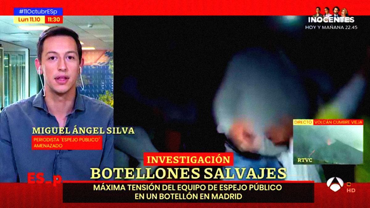 Miguel Ángel Silva, reportero de 'Espejo Público'