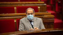 La mascarilla será de uso obligatorio a partir de este jueves en Catalunya aunque haya distancia física