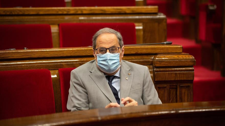 """Torra acusa al Gobierno de aplicar un 155 """"camuflado en el estado de alarma"""""""