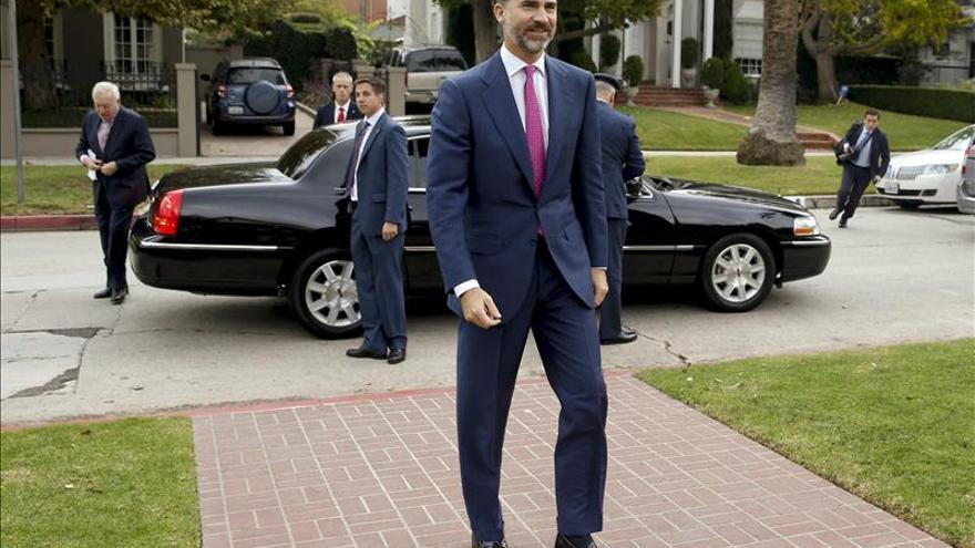 """El Príncipe Felipe entrega hoy en Zaragoza los premios """"Emprende con Cultura"""""""