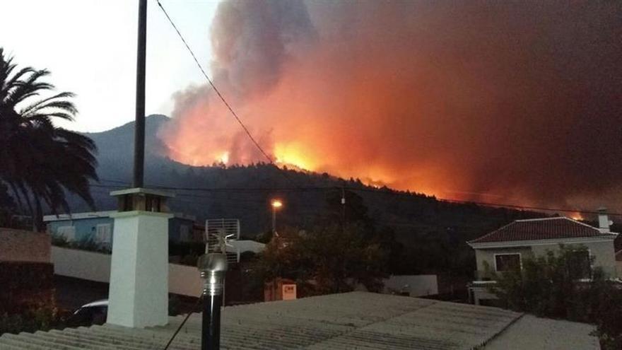 Incendio en La Palma. (Efe)