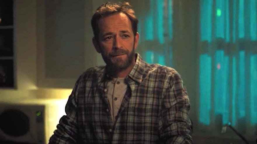 Luke Perry en su última escena en 'Riverdale'