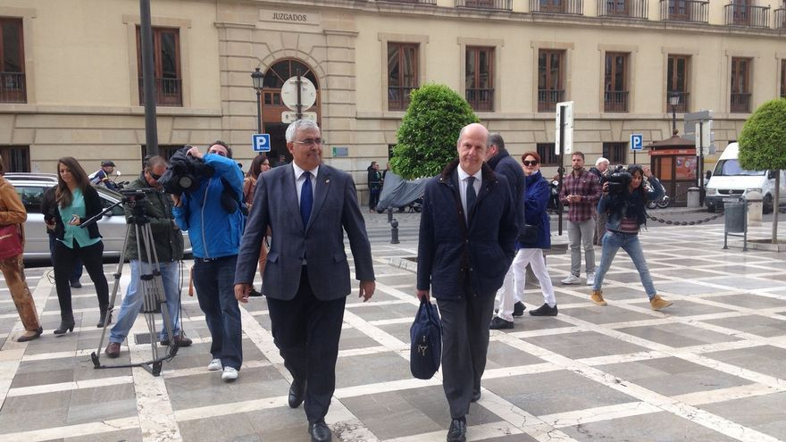 Arellano llega al TSJA para declarar como investigado por posible prevaricación administrativa y falsedad