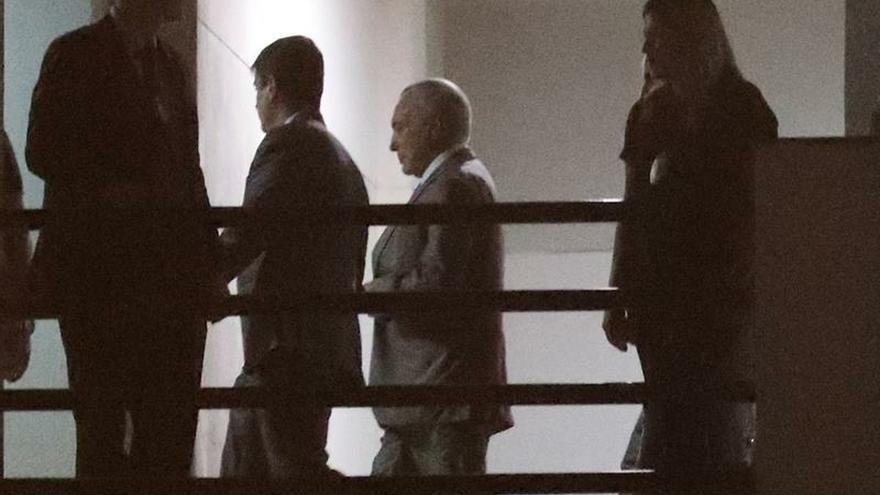 Un juez concede la libertad al expresidente de Brasil Michel Temer