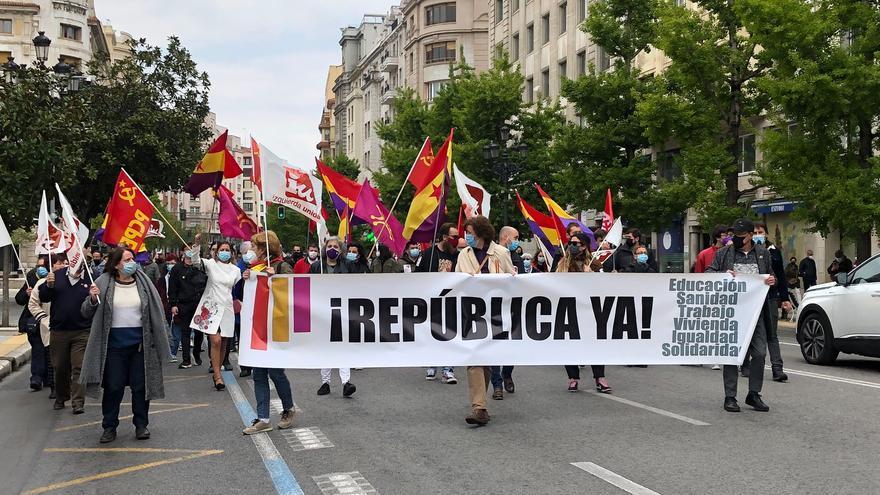 Manifestación republicana en Santander