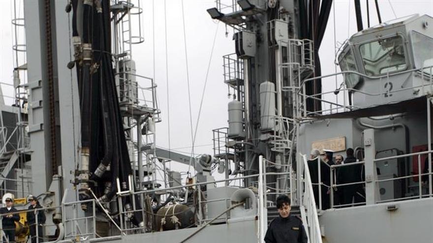 """El """"Patiño"""" regresa a Ferrol y ya piensa en su nueva misión con la OTAN"""