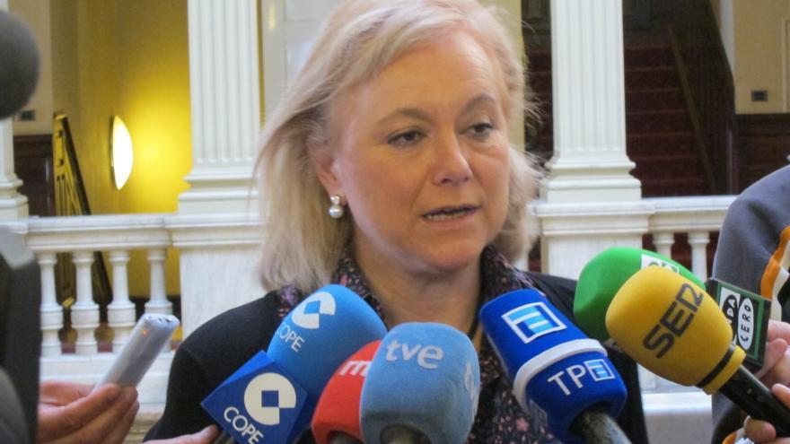 """La presidenta del PP de Asturias considera que el anteproyecto es """"lo más progresista"""" que ha hecho Gallardón"""
