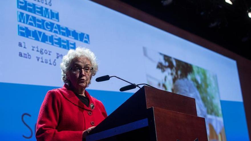 Soledad Gallego-Díaz recoge el Premio Margarita Rivière de comunicación
