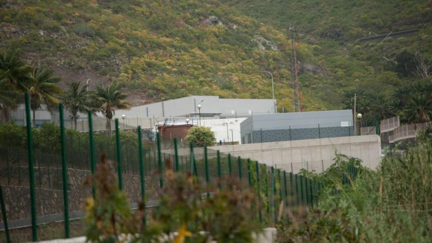 Planta depuradora radicada en Valle de Guerra, en La Laguna, en una imagen de archivo