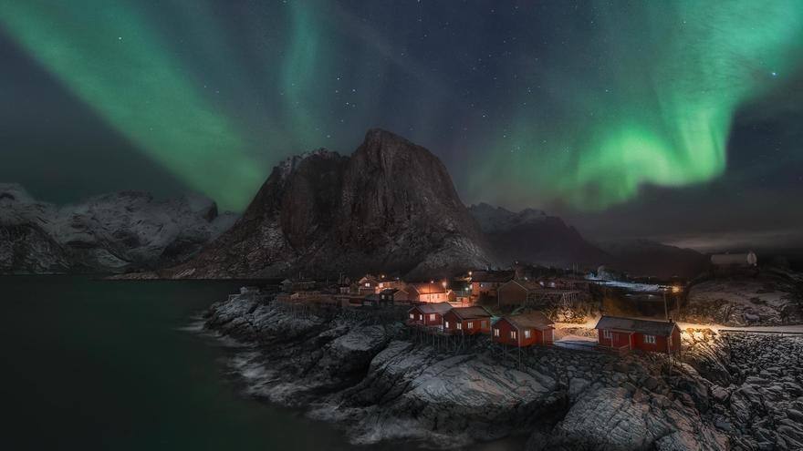 Las condiciones de trabajo en tierras árticas durante el invierno pueden ser extremas. Daniel Zafra