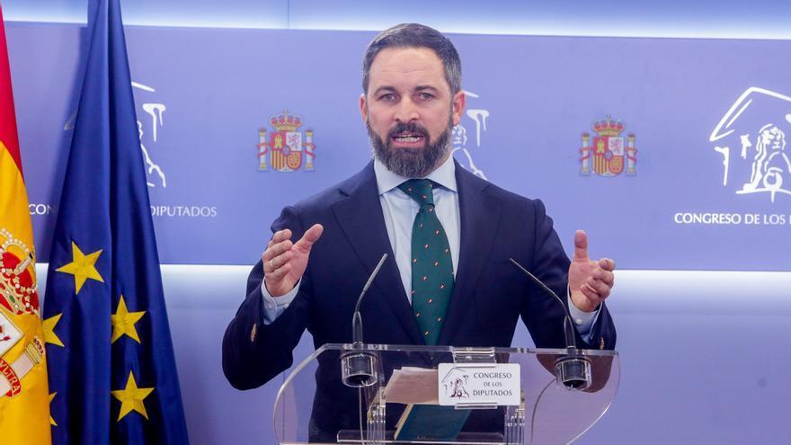 Abascal aumenta en 30.600 euros su saldo bancario desde que fue elegido diputado en abril
