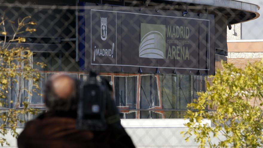 El pabellón Madrid Arena. / Efe