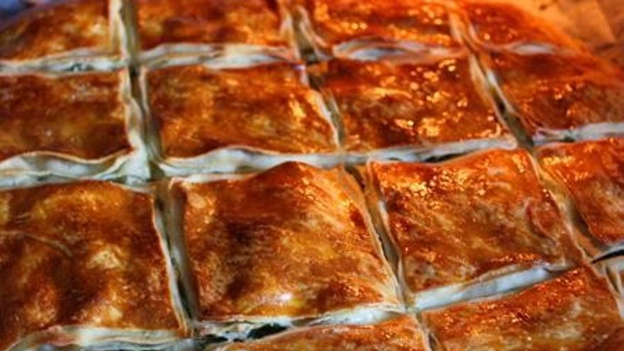 Börek de carne, uno de los clásicos de la gastronomía turca.