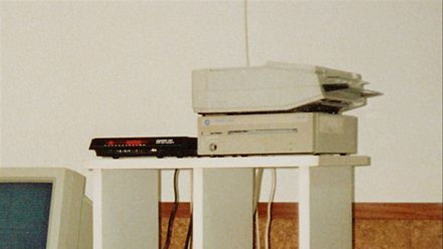 Esta era la infraestrucutra que sustentaba la BBS de SICYD en 1990