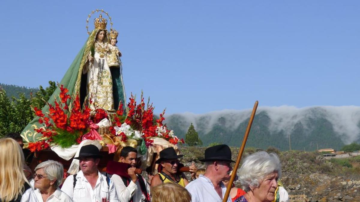 Imagen de archivo de la Bajada de la Virgen del Pino.