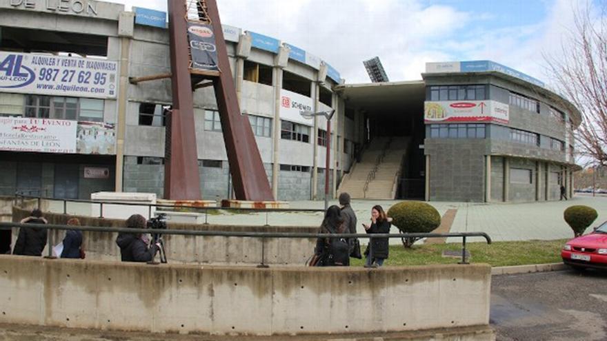 Estadio de fútbol 'Reino de León', donde se instalará el Conservatorio de Música de la capital leonesa. Foto: www.ileon.com