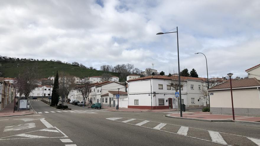 Avenida de los Cerros, la calle central de Girón
