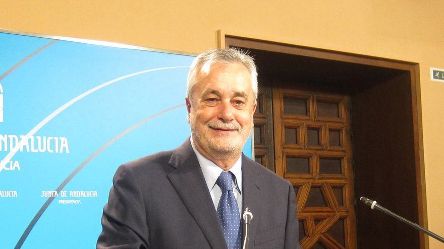 """Griñán afirma que el """"déficit nos tiene que preocupar, pero el paro, mucho más"""""""