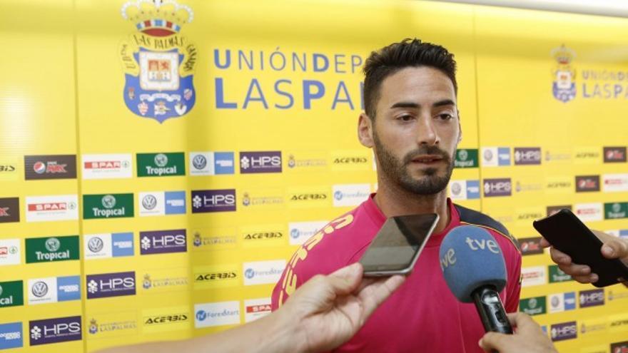 El futbolista Héctor Figueroa (FOTO: UD LAS PALMAS)
