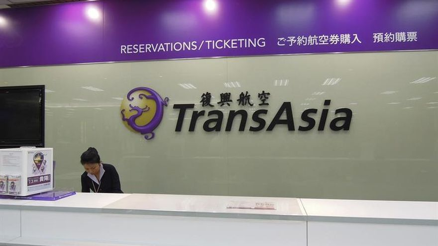 La aerolínea TransAsia será liquidada debido a sus fuertes deudas
