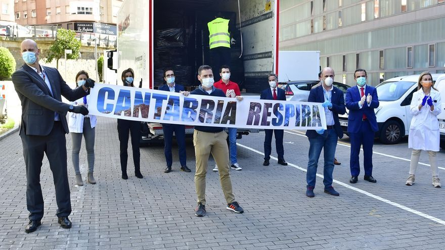 El Banco Santander ha destinado 800.000 euros para apoyar a Cantabria durante la crisis sanitaria