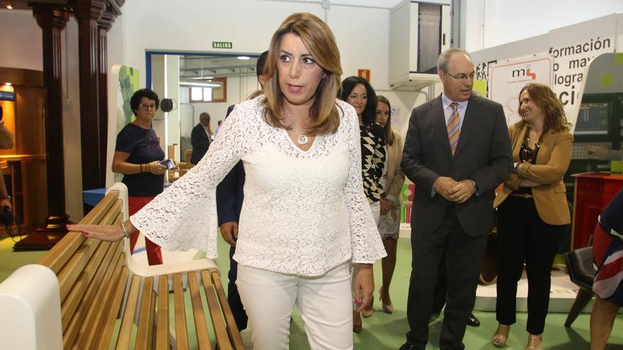 """Susana Díaz recuerda a los catalanes de origen andaluz que """"el Estado les protege"""""""
